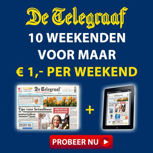 telegraaf 10 weekenden