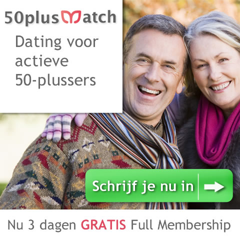 3 dagen gratis full membership op 50plusmatch.be