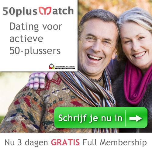 3 dagen gratis full membership op 50plusmatch.nl
