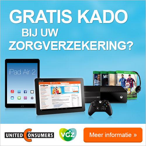 Zorgverzekering met gratis tablet