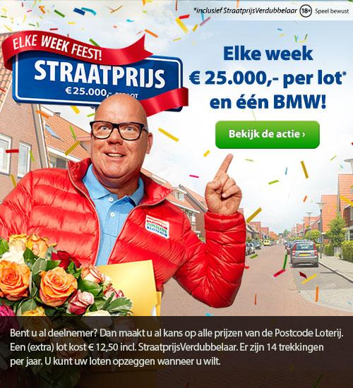Win de Straatprijs, a 25,000 euro per lot
